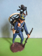 Figurines Soldats De Plomb Soldat ATLAS CHASSEUR CYCLISTE 1914 France Guerre 14-18 WW1 WWI - Soldats De Plomb