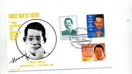 Lettre Fdc 1983 Aquino - Philippines