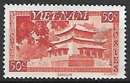 VIET-NAM    -   1951 .  Y&T N° 4 Oblitéré - Viêt-Nam