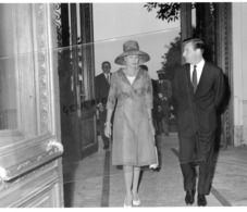 MONTE CARLO- GERARD SOUHAMI AVEC SAS PRINCESSE GRACE DE MONACO- - Berühmtheiten