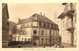 - Haut Rhin -ref-A671- Orbey - Hotel Des Vosges - Aloyse Zann - Hotels - Edit. Gassmann - Soultz - Carte Bon Etat - - Orbey