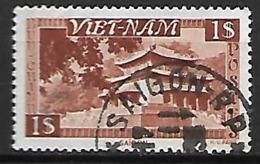 VIET-NAM    -   1951 .  Y&T N° 6 Oblitéré Saïgon R.P. - Viêt-Nam