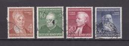 BRD - 1952 - Michel Nr. 156/159 - Gest. - 100 Euro - [7] Federal Republic