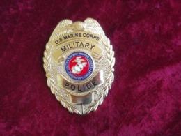 Placca - Distintivo USMC Marines Military Police Nuovo - Polizia