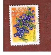 SUD AFRICA (SOUTH AFRICA) - SG 1282   -   2001  FLORA: KAROO VIOLET (26 X 35) - USED - África Del Sur (1961-...)