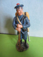 Figurines Soldats De Plomb Soldat HACHETTE FUSILIER MARIN 1914 France Guerre 14/18 Marine WW WWI - Soldats De Plomb