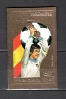 TCHAD  PA N° 246F  NON DENTELE   NEUF SANS CHARNIERE  COTE  ? €   FOOTBALL  TIMBRE OR - Chad (1960-...)