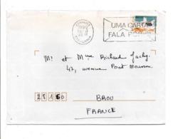 PORTUGAL LETTRE POUR LA FRANCE 1990 - Marcophilie