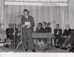 19- LUBERSAC- X E CONGRES SAINT EXUPERY-GERARD SOUHAMI-MARCEL ESTRADE-PRESIDENT DES D. DE SAY CORREZE - Berühmtheiten