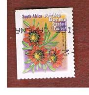 SUD AFRICA (SOUTH AFRICA) - SG 1295   -   2001  FLORA: GAZANIA KRESBIANA (AFRIKA BORWA) - USED - África Del Sur (1961-...)