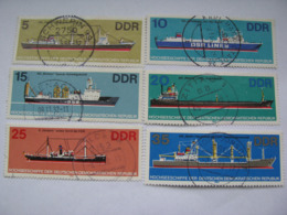 DDR  2709 - 2714  O - [6] République Démocratique