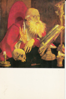 82097- MARINUS VAN REYMERSWAELE- ST JEROME, PAINTINGS, FINE ARTS - Peintures & Tableaux