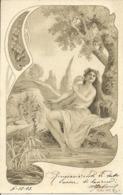 Ragazza (Fille, Girl) Che Abbraccia Un Cigno - Donne