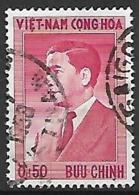 VIET-NAM    -   1956 .  Y&T N° 43 Oblitéré - Viêt-Nam