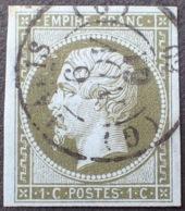 """R1568/118 - NAPOLEON III N°11 - LUXE - CàD De PARIS (BUREAU """" G """") Du 6 NOVEMBRE 1861 - 1853-1860 Napoléon III"""