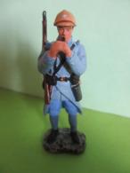 Figurines Soldats De Plomb Soldat HACHETTE CHASSEUR A PIED FRANCAIS 1916 France Guerre 14/18 WW WWI - Soldats De Plomb