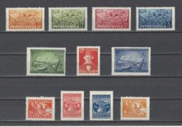 YOUGOSLAVIE.  YT  N° 471/4810  Neuf **  1947 - Neufs
