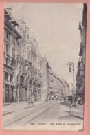 OUDE POSTKAART ZWITSERLAND - SCHWEIZ - SUISSE -   GENEVE - RUE BASSE - GE Ginevra