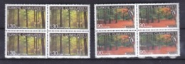 AC - TURKEY STAMPS -  EUROPE 2011 FORESTS BLOCK OF FOUR MNH 09 MAY 2011 - Neufs