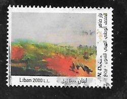 TIMBRE OBLITERE DU LIBAN DE 2018 - Liban