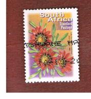 SUD AFRICA (SOUTH AFRICA) - MI 1542A   -   2001  FLORA: GAZANIA  KREBSIANA - USED - África Del Sur (1961-...)