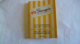 Miniature Tube Berverly Hills Giorgio - Parfums - Stalen