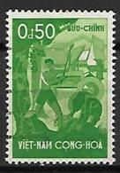 VIET-NAM  Du SUD   -   1958 .  Y&T N° 85 Oblitéré - Viêt-Nam