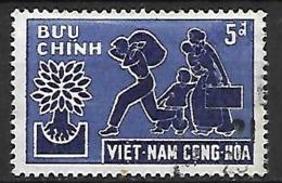 VIET-NAM  Du SUD   -   1960 .  Y&T N° 137 Oblitéré.   Réfugiés - Viêt-Nam