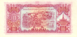LAOS P. 20b 10 K 1968 UNC - Laos