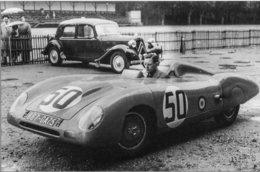 Panhard X89  - Pilotes: Charles Plantivaux-Guy Lapchin  (Concurrents Francaises Du Mans 1953) - PHOTO 15x10cms - Le Mans