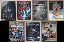 LOT 8 BD - FANTASTIQUE / EROTIQUE (x1) (DELCOURT DUPUIS GLENAT BLAKE & MORTIMER SOLEIL) - Books, Magazines, Comics