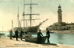 Le GRAU Du ROI  = Trois Mats Dans Le Canal ..  845 - Le Grau-du-Roi