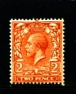 GREAT BRITAIN - 1912  KGV  2d  ORANGE  WMK ROYAL CYPHER  MINT  NH  SG 368 - 1902-1951 (Re)