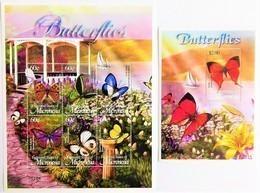 # Micronesia 2002**Mi.1366-72  Butterflies , MNH [15;82] - Schmetterlinge
