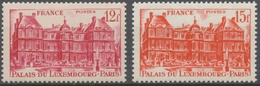 Palais Du Luxembourg. Type De 1946 (no 760). Légende FRANCE Au Lieu De R.F. N°803 à 804 Neuf Luxe ** Y804S - France