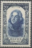 Célébrités Du XVIIIe Siècle (II).  Lazare Hoche  20f. + 10f. Bleu. Neuf Luxe ** Y872 - France