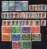 Suède Belle Petite Collection D'anciens Oblitérés 1903/1924. Bonnes Valeurs. B/TB. A Saisir! - Sweden