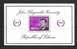 LIBERIA BLOC 1964 KENNEDY  YVERT N°B29 NEUF MNH** - Liberia