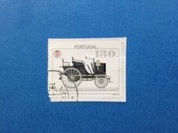 1995 PORTOGALLO PORTUGAL AUTO 130 FRANCOBOLLO USATO STAMP USED - Usati