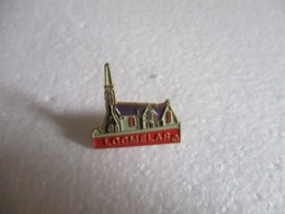 Pin's Eglise De Locmélar (29). - Cities