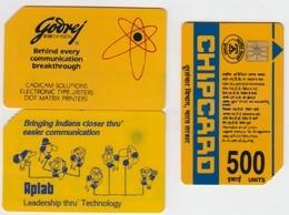 India - Superb Fine Used Phonecard - Godrej - India