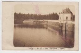 BB175 - DIGUE DU LAC DES SETTONS - Carte Postale Photo - 1905 - France