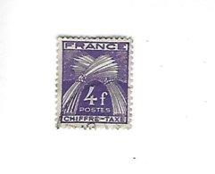 France Chiffre-taxe N° 74 Oblitéré - Taxes