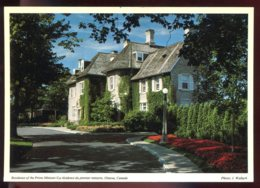 CPM Neuve Canada OTTAWA Résidence Of The Prime Minister - Ottawa