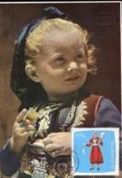 47222 Albania, Maximum 1967,  Costume Trachten  Veshie E Dardhes - Albania