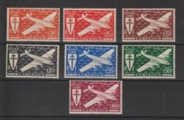 Cameroun 1942 Série France Libre PA 12 à 18 7 Val ** MNH - Kameroen (1915-1959)