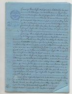 Villosanges Puy De Dôme Dossier Comprenant 34 Pages 1900 1920 Huissier - Manuscrits