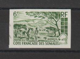 Cote Des Somalis 1965 Essai De Couleurs Non Dentelé Paysages 322 ** MNH - Neufs