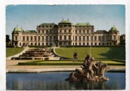 VIENNA, WIEN, Schloss Belvedere Castle, 1966 Used Postcard [23503] - Belvedere