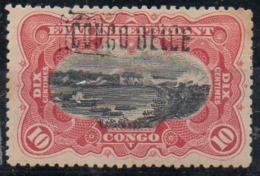 CONGO  - COB 31 L2 - VARIETE  SURCH ENCADREE + CERTIFICAT - BB - Congo Belge